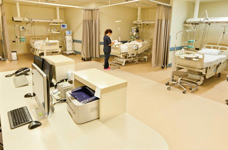 Florence Nightingale Hospitals beds