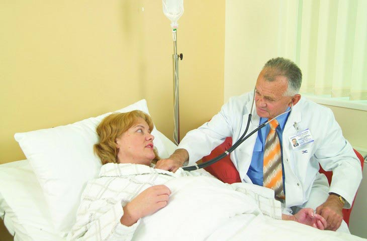 Gastroenterology mdtc professor G.Grybauskas with his patient lithuania